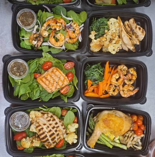 private chef prepared meals
